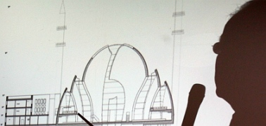 Responding to public pressure, architects reduced the size of a controversial mega-mosque planned for the city of Cologne.