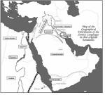 Semitic Language Map