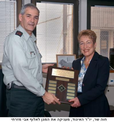 Maj. Gen. Avi Mizrahi, a veteran professional officer