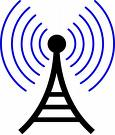radio tower symbol""