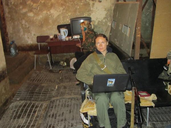 H Anna Zeidler θα δίνει ανταποκρίσεις μέσα από το επιτελείο των δυνάμεων της ρωσόφωνης αντίστασης